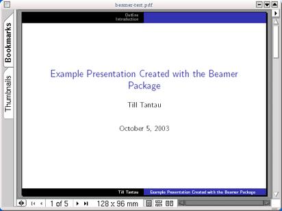 Screen Presentation Tools